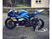 GSXR 1000 Race bike, track bike, ex TAS SUZUKI