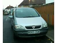 Vauxhall zafira 1.8 automatic 7 seater start and drive part or repair