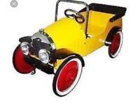 Brum kids vintage car