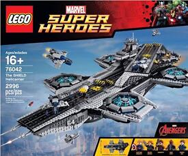 Lego the shield helicarrier 76042