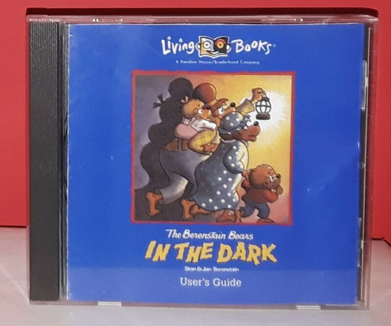 Living Books Berenstain Bears In The Dark (PC CD-ROM) Rare
