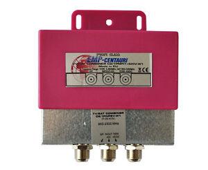 Einschleusweiche Sat/Terrestrial Einspeiseweiche Weiche Sat+Kabel+UKW Antenne