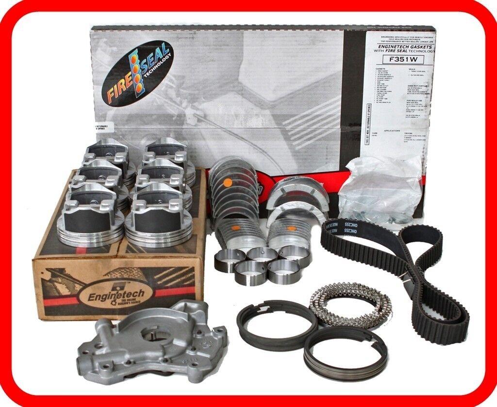 Fits 2000-2003 TOYOTA CAMRY SOLARA 3.0L V6 1MZFE ENGINE RE-RING REBUILD KIT