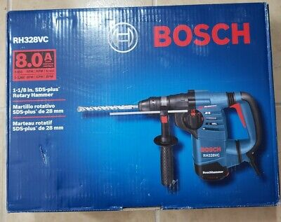 Bosch Rh328vc 1-18 Sds-plus Rotary Hammer Drill New Free Shipping