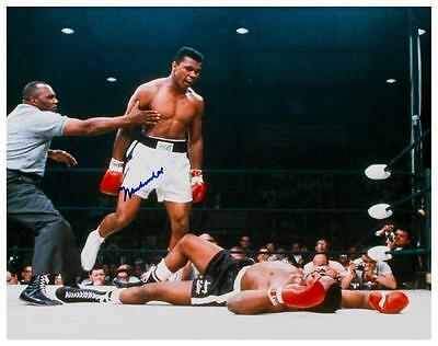 Muhammad Ali  - LARGE POSTER  - Sonny Liston - The GREATEST BOXING LEGEND  Print