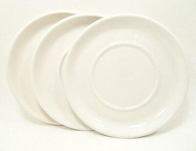STONEHENGE WHITE by MidwinterSet (s) 2 Saucers Plus 1 Free England