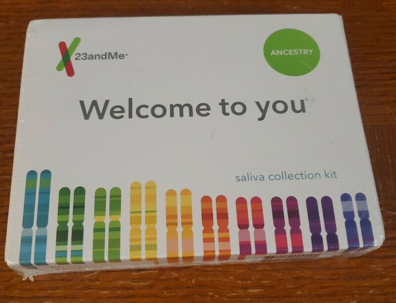 23andMe AUXX-00-N05 Genetic Ancestry Test Exp. 2020-07-27