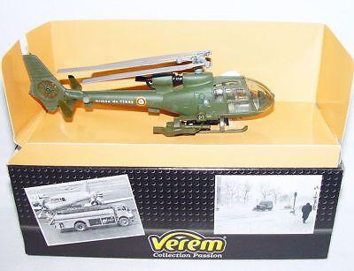 Verem France 1:64 French Modern Army GAZELLE MILITARY HELICOPTER V7000 MIB`90