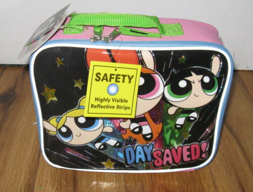 VTG Powerpuff Girls The Day Saved Lunch School Lunch Box Bag New NWT Cooler Rare