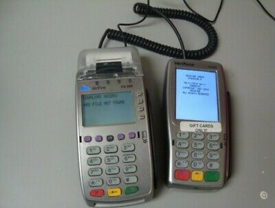Verifone Vx520 Vx820 Credit Card Terminal And Pin Pad Chip Reader Ships Free
