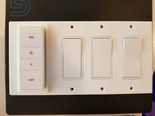 for Philips Hue - Dimmer Switch Multiple GANG Cover Wall Plate