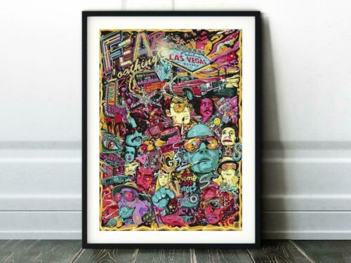 Fear And Loathing in Las Vegas Movie Poster Wall Painting No Frame