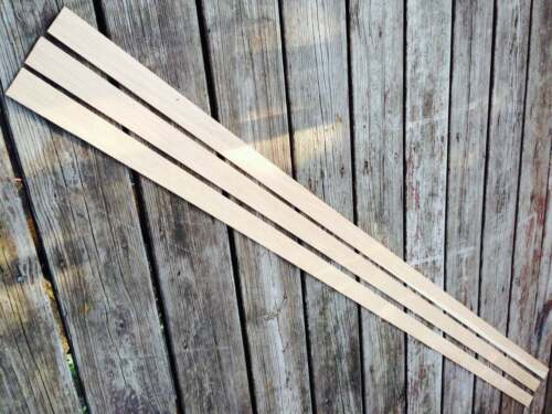 Premium Grain Hickory Backing Strip Stave Perfect for Hickory Bows Wood Archery