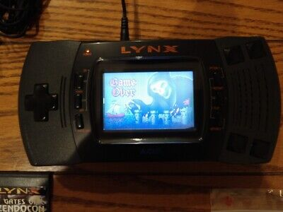Atari Lynx II with 21 Games. Great Condition, lots of accessories FREE SHIPPING