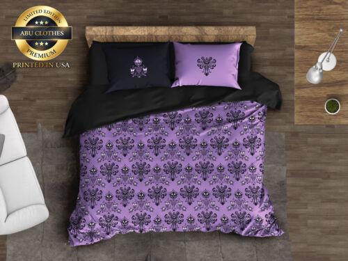 Bedding Set Haunted Mansion inspired, Haunted Mansion Pattern Comforter