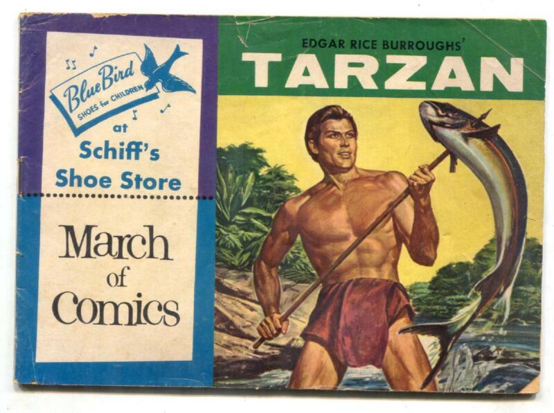 March of Comics #144 1956-Tarzan- Russ Manning VG