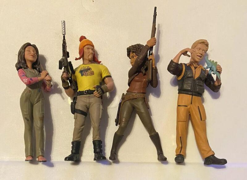 Firefly Serenity QMX Mini Masters Lot - Hoban Washburne Jayne Cobb Loose Figures