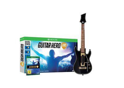 GUITAR HERO VIVERE (GIOCO +CHITARRA) XBOX ONE xb-uno NUOVO + conf. orig.