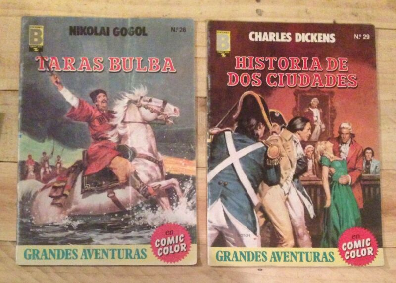 Grandes Aventuras En Comic Color 90