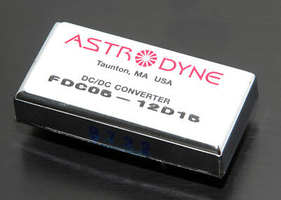 Astrodyne Dc - Dc Converter 9-18vdc In -15vdc Out 5 W Isolated Regulated