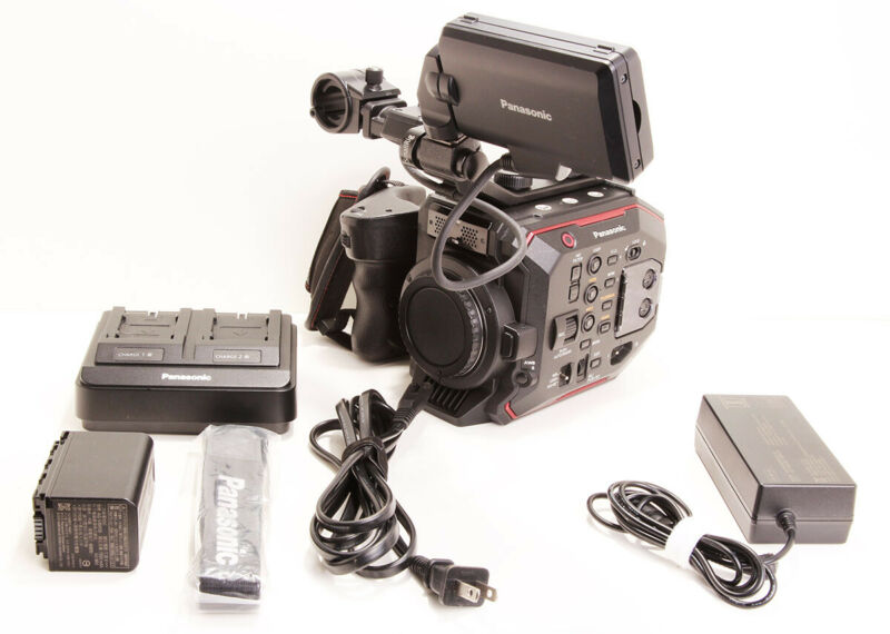 Panasonic AU-EVA1 5.7K Super 35 Handheld Cinema Camera - EF Mount