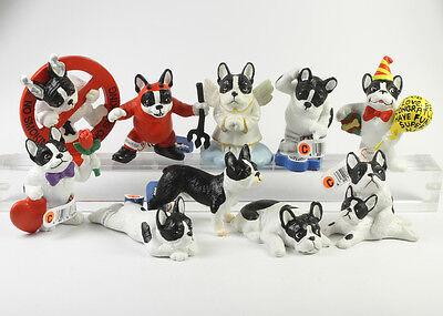 Bully Maskottchen === Bulldogge 10 x Hunde Figuren