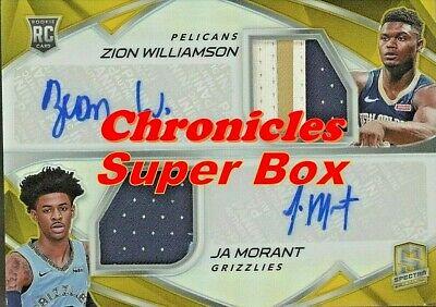 NBA Super Box 30+ Cards: 2 Auto/Relic + Stars + RCs + 1 NBA Chronicles PACK!!!