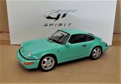 1/18 GT Spirit GT019C Porsche 911 964 Carrera 4  Mint Green