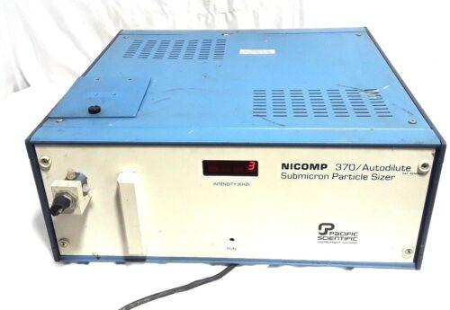 NICOMP Submicron Particle Sizer Autodilute Model 370