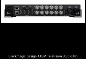 Blackmagic Atem televisions studio HD