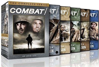 COMBAT! - The Complete Series Collection Seasons 1-5 on DVD - Season 1 2 3 4 & 5