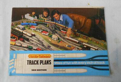 #T72. THIRD EDITION 1976 HORNBY MODEL RAILWAYS TRACK PLANS