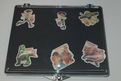 Vintage Disney Toy Story 2 McDonald's Lapel Pins, Set Of 6, New in Display Box