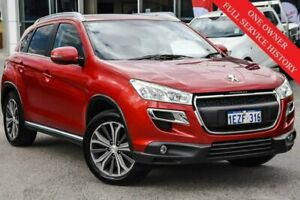 2016 Peugeot 4008 MY15 Active 2WD Red 6 Speed Constant Variable Wagon