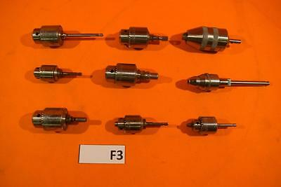 Lot Of 9 Surgical Jacobs Chucks - Stryker