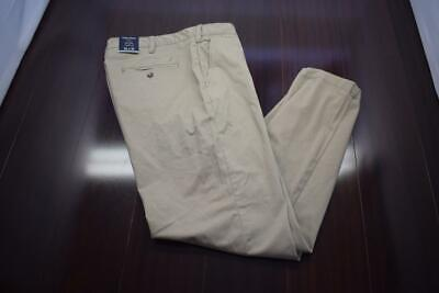 34299 New Mens Nautica Classic Fit Stretch Beige Khaki Chino Pants Size 36 x 30