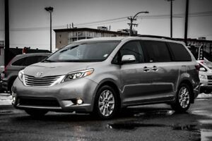 2017 Toyota Sienna LIMITED PANORAMIC SUNROOF  LEATHER LIMITED PA