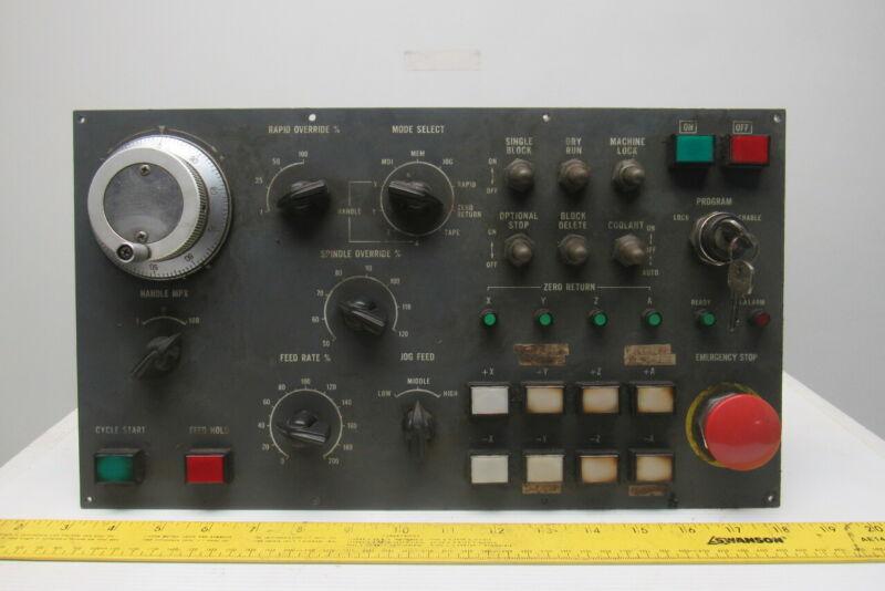 Mazak M-5 CNC Turning Center Spindle Control Operator Panel