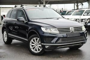 2015 Volkswagen Touareg 7P MY15 150 TDI Black 8 Speed Automatic Wagon