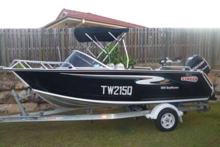 Stacer 509 Bay Master, 2011 Model. 90 HP Mercury Optimax,