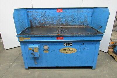 Denray Model 2872g 28 X 72 Down Draft Grinding Wood Sanding Table 460v 3 Ph