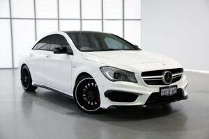 2015 Mercedes-Benz CLA-Class C117 806MY CLA45 AMG SPEEDSHIFT DCT 4MATIC White 7 Speed