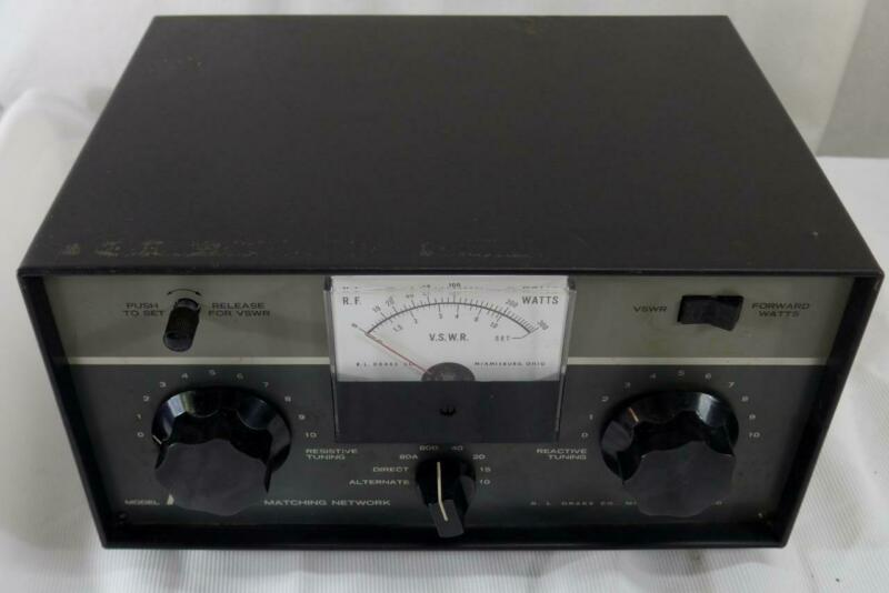 Drake MN-4 Matching Network 200 Watt Antenna Tuner For Ham Radio