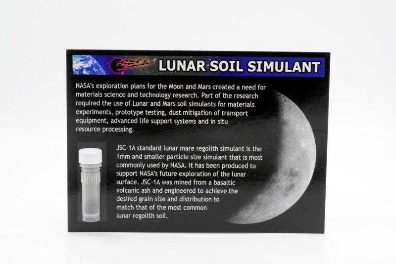 Lunar Soil Simulant as used by NASA