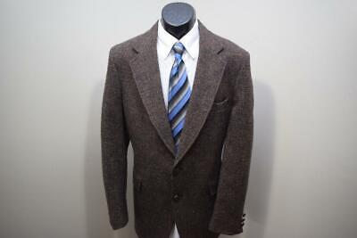 1503 Mens Harris Tweed 100% Scottish Wool VTG Blazer Sports Jacket 40 R