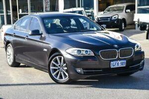 2013 BMW 5 Series F10 MY1112 528i Steptronic Black 8 Speed Sports Automatic Sedan