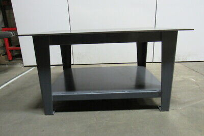 H.d. 12 Thick Top Steel Fabrication Layout Welding Table Work Bench 60 X 48