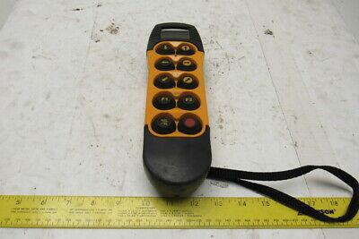 Demag Drc-10 Id 773 431 44 2 Ton Crane Remote Control Pendant