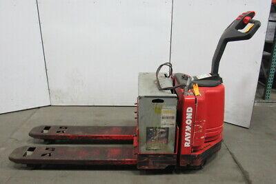 Raymond 111tm-f60l 6000lb Capacity Electric Walkie Pallet Jack W24v Battery