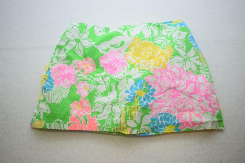 Lilly Pulitzer Floral Skirt Skort Girls Size 10